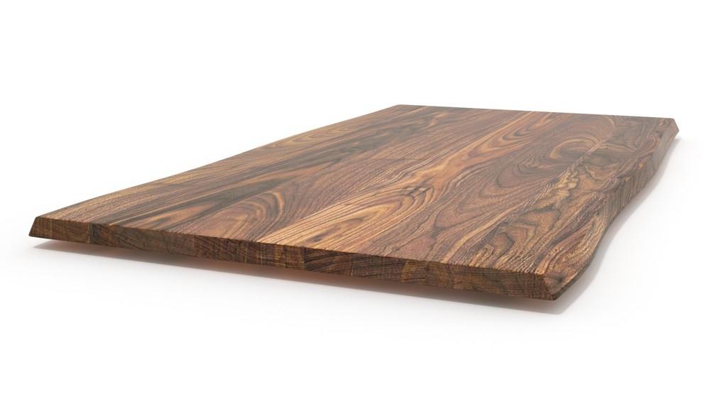 Tischplatte massivholz baumkante  Regalbrett Akazie