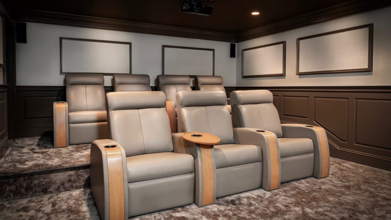 9 Steps To Revamping An Outdated Custom Home Theater Madison Hudson