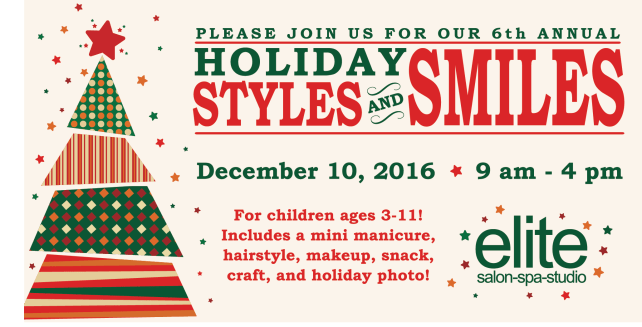 2016 Holiday Styles and Smiles