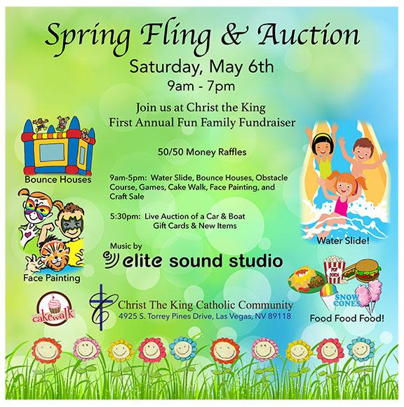 Spring Fling  Auction Fundraiser - Elite Sound Studio