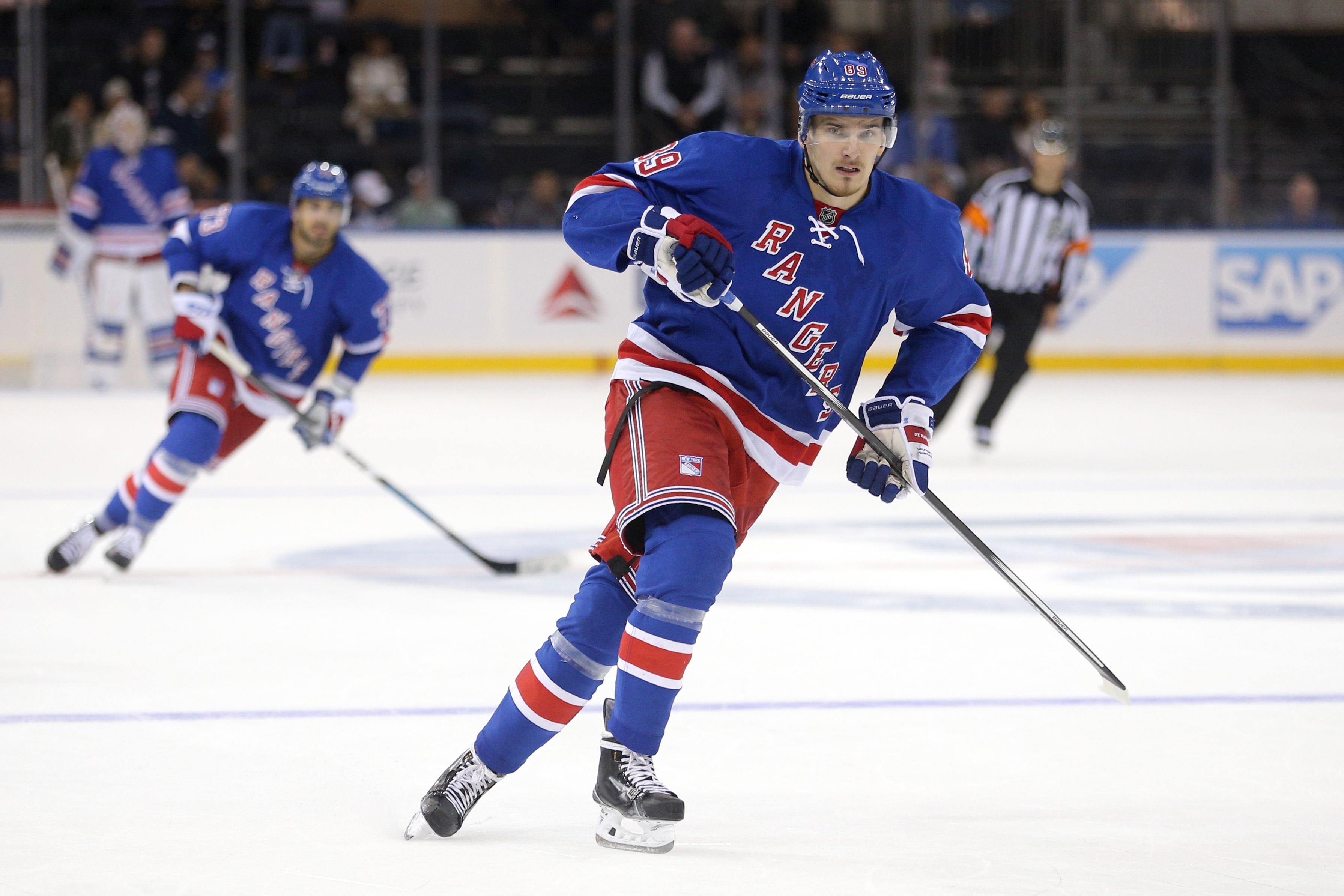 New York Rangers Lose to Philadelphia Flyers, 4-3