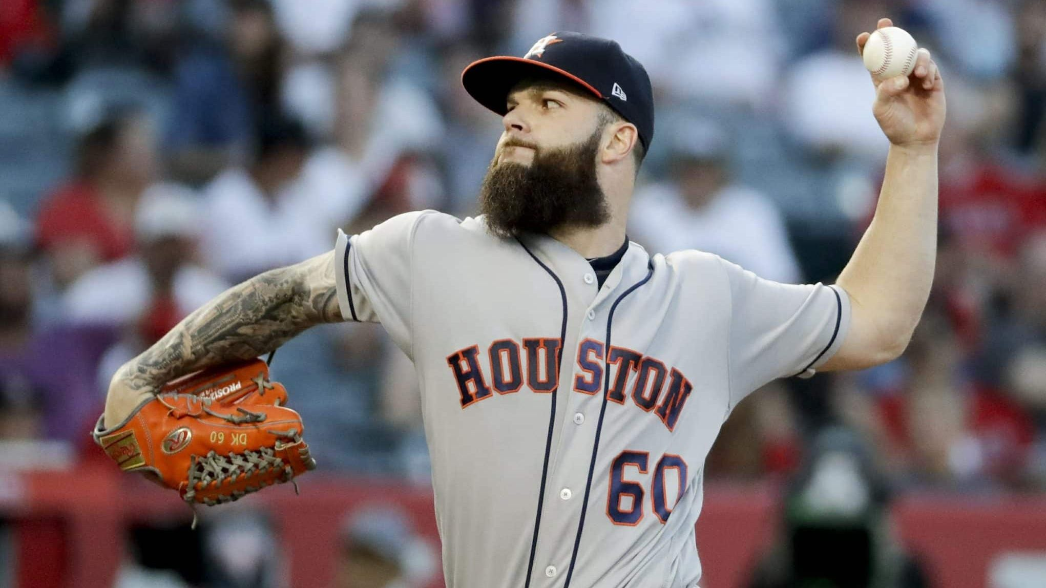 New York Yankees News Bombers Most Likely Team To Land Dallas Keuchel