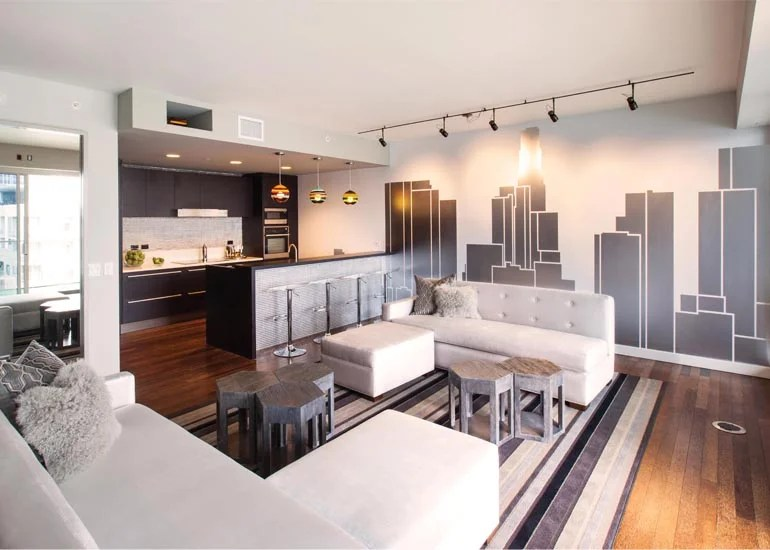 Kleines Wohnzimmer Ideen Pinterest All Fun And Games At W Hollywood Residences' Penthouse 12g
