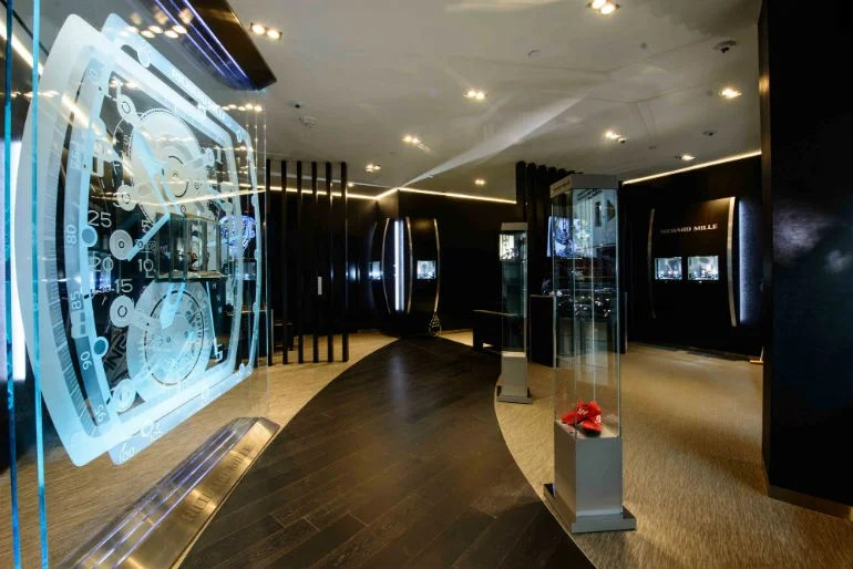 Elite Decor Richard Mille Opens Boutique At Las Vegas' Most Exclusive