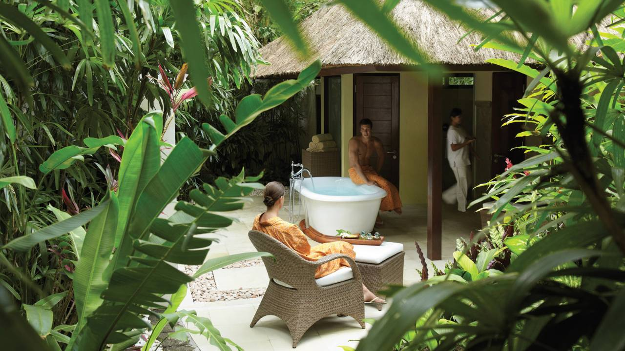 Retreat Spa Four Seasons Resort Bali Offers Healing And Wellness