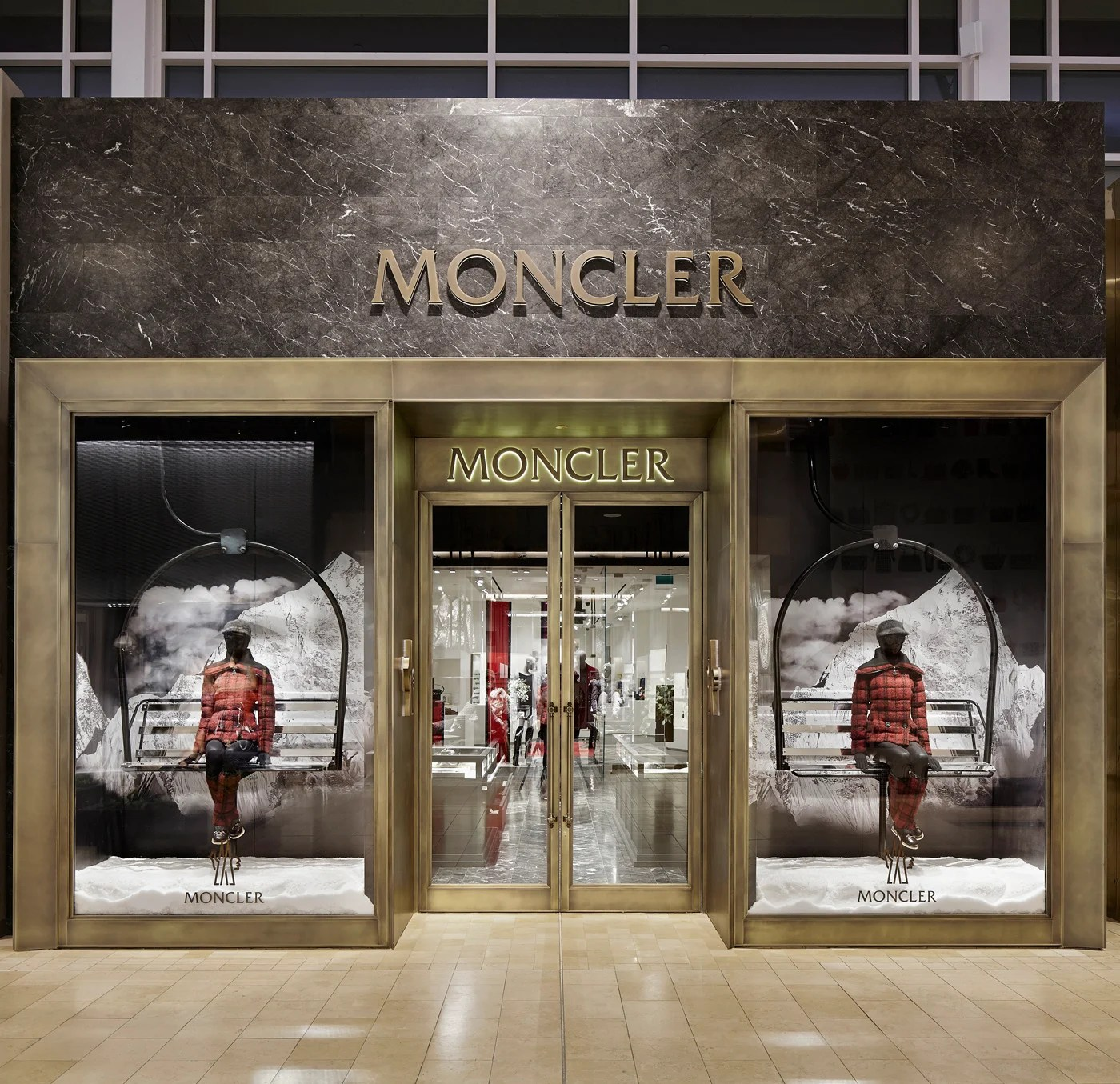 Canadian Stores Moncler Opens Its First Boutique In Canada Elite Traveler
