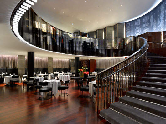 Mobilier De Restaurant Dining At London's Most Expensive Hotel | Elite Traveler