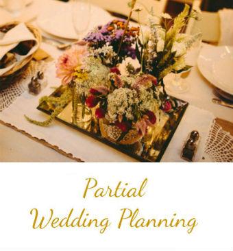 Hudson Valley Wedding Planner - Partial Wedding Planning