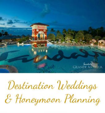 Hudson Valley Wedding Planner - Sandals Destination Weddings and Honeymoon Planning