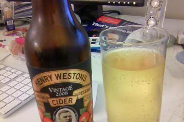 Henry Westons Special Reserve Vintage Cider