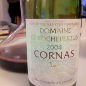 Cornas Domaine de Rochepertuis 2004, Jean Lionnet
