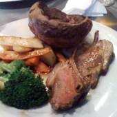 Dial Arch Sunday roast lamb