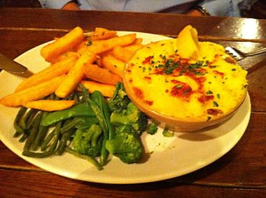 A fish pie from the Barrow Boy and Banker