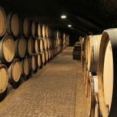 Barrels in the Domaine Dujac cellar