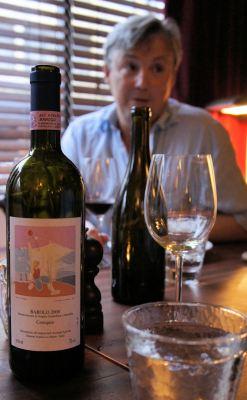 Nigel provided Barolo 'Cerequio' 2000 from Voerzio