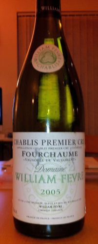 Chablis Premier Cru Fourchaume 'Vignoble de Vaulorent' 2005, Domaine William Fevre