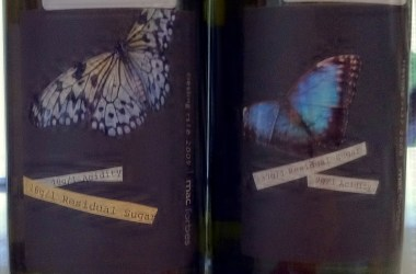 Mac Forbes Riesling labels