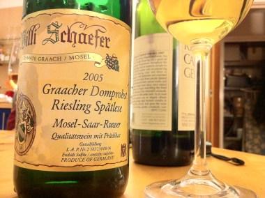 Riesling Spatlese Graacher Domprobst 2005, Willi Schaefer