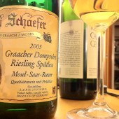Riesling Spatlese Graacher Domprobst 2005, Willi Schaefer