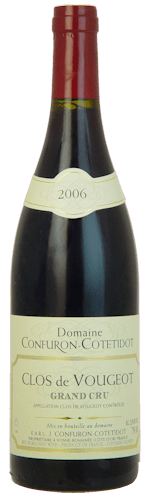 Clos Vougeot Grand Cru, Domaine J. Confuron Cotetidot