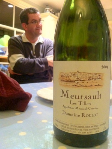 Peter likes Roulot Meursault, don't we all?