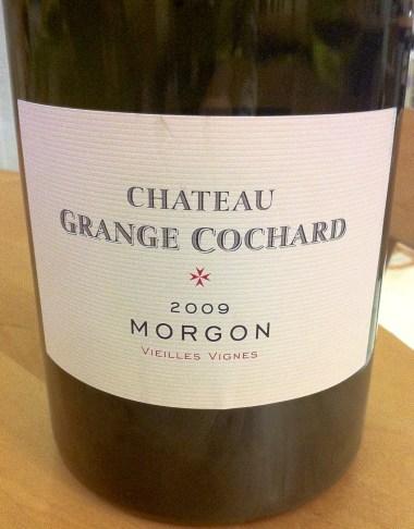 Morgon Vieilles Vignes 2009, Chateau Grange Cochard