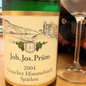 Riesling Spatlese Graacher Himmelreich 2004, JJ Prum