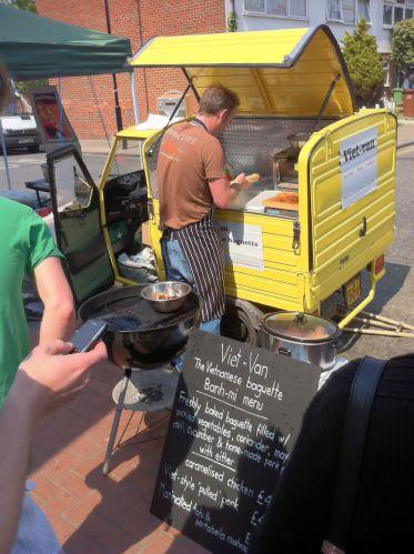 Viet-Van in North Cross Road food market
