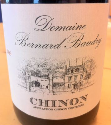 Chinon 2009, Domaine Bernard Baudry