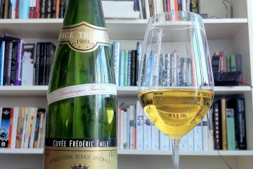 Riesling Cuvee Frederic Emile Vendanges Tardives 1989, F. E. Trimbach