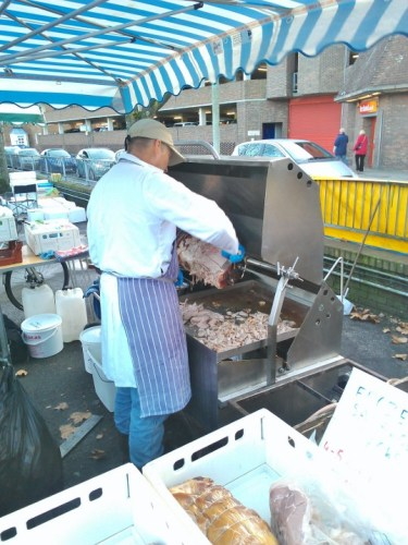 The best hog roast I&#039;ve sniffed