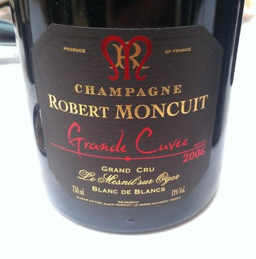 Champagne Robert Moncuit Grande Cuvee