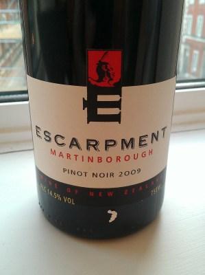 Escarpment Vineyard Pinot Noir 2009