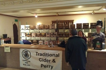 Cider and perry at the Winchester real ale festival