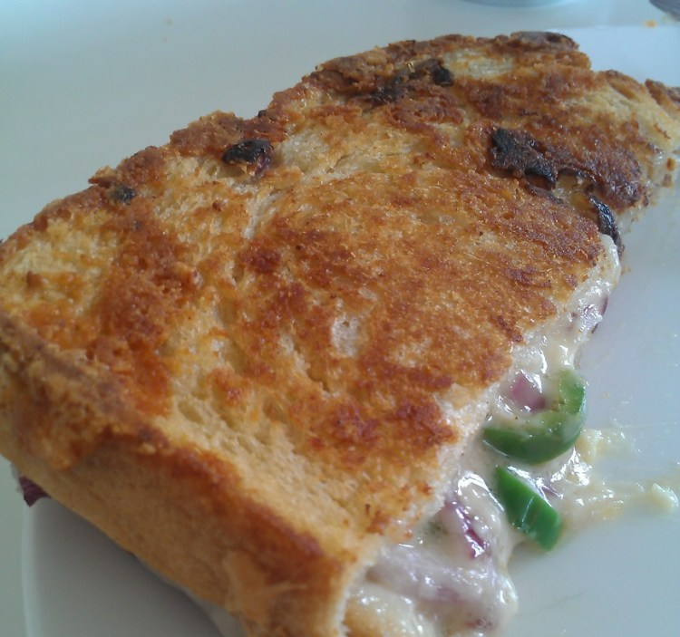 The greatest toasted cheese sandwich known to man - made according to the recipe of Hawksmoor at Home