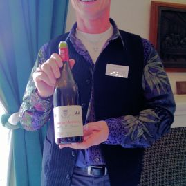Francois Bertheauc with Chambolle-Musigny Premier Cru Amoureuses