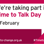 Time to talk about mental health day
