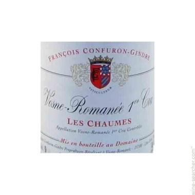 Domaine Confuron-Gindre Vosne-Romanee Premier Cru Chaumes