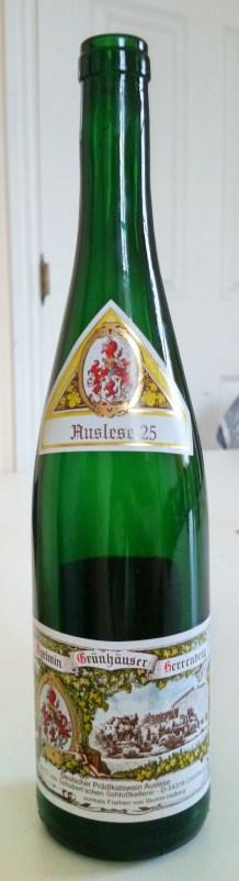 2012 Maximin Grunhauser Herrenberg Auslese 25