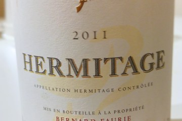 Faurie Hermitage 2011 is shit