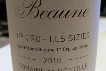 De Montille Beaune Sizies
