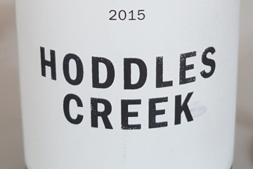Hoddles Creek Pinot Noir 2015