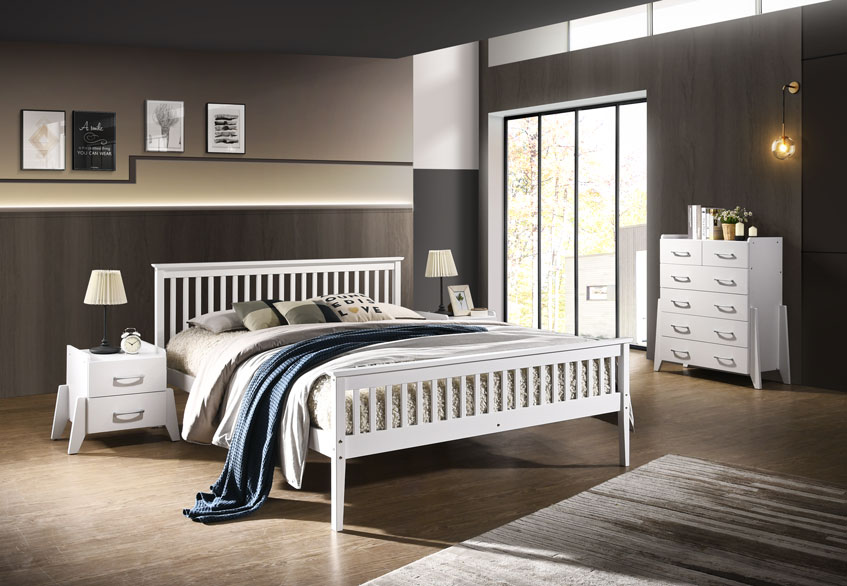 Timber King Single Bed Frame Timber Bed Frame In Queen Double King Single Size Wooden