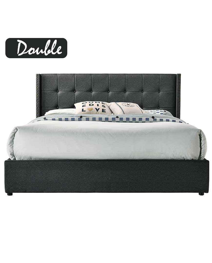 Double Size Bed Luna Gas Lift Double Size Bed Frame
