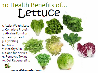 lettuce benefits