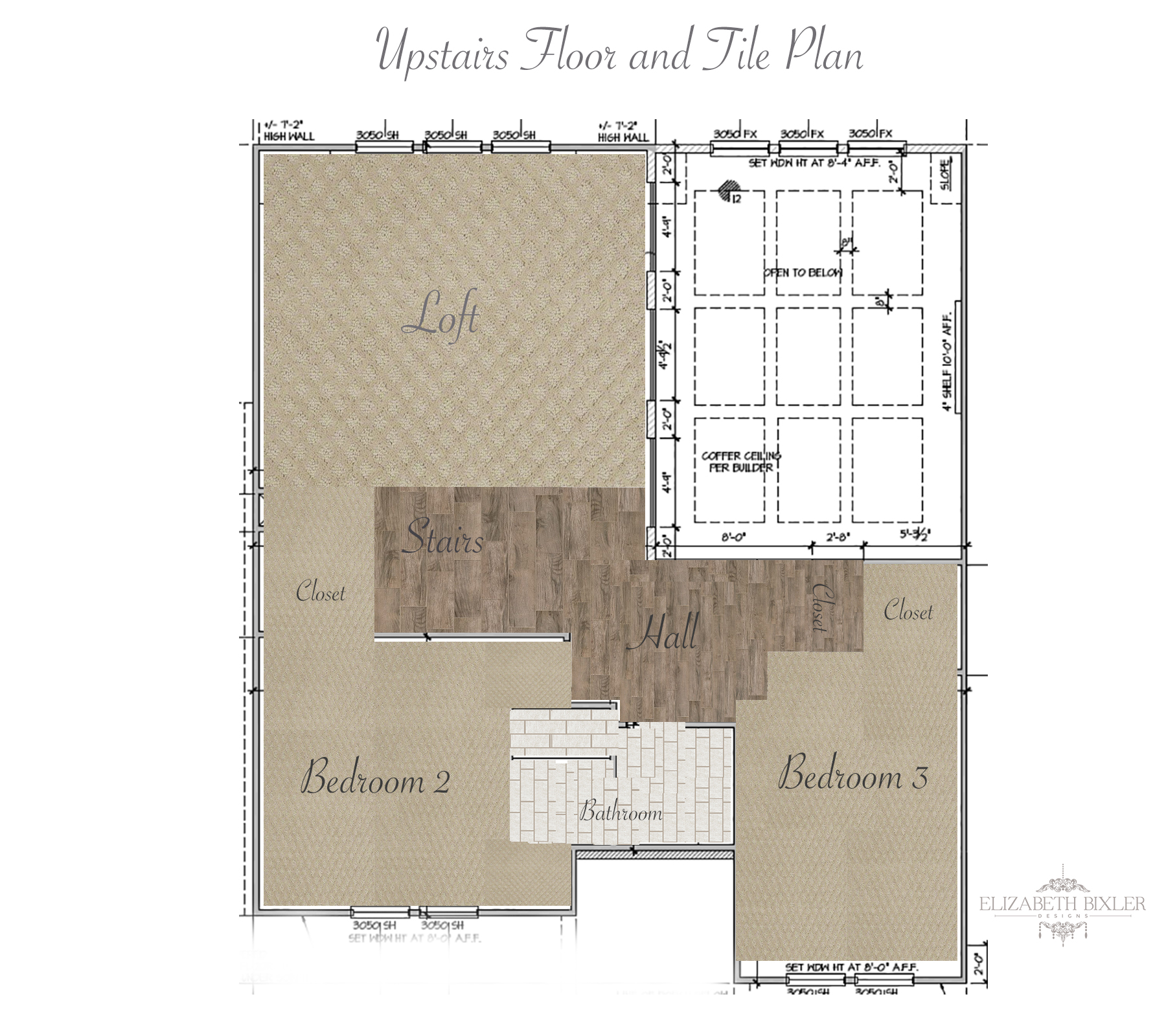 How to plan floor tile layout