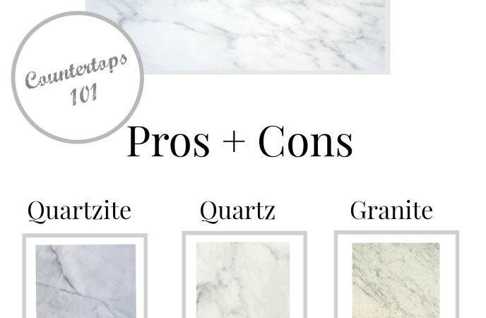 Countertop Types Pros And Cons : marble countertop alternatives pros and cons