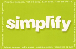 Simplicity Report