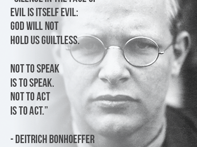 Saint Stories: Dietrich Bonhoeffer