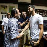 En photo, l'arrivée d'Azaro au Caire pour rejoindre son nouveau club Al Ahly
